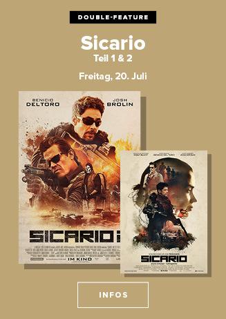 Doppel: Sicario 1 + 2