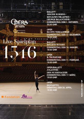 """160211 live aus Opéra National de Paris """"Il Trovatore"""""""