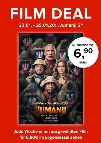 """Film Deal: """"Juamnji: The next Level"""""""