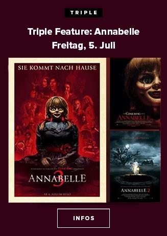Triple Feautre Annabelle
