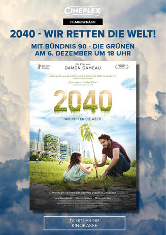 Filmgespräch: 2040 - Wir retten die Welt!