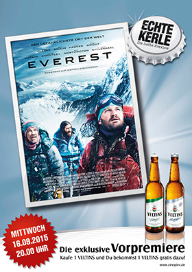 "Echte Kerle Preview ""Everest - 3D"""
