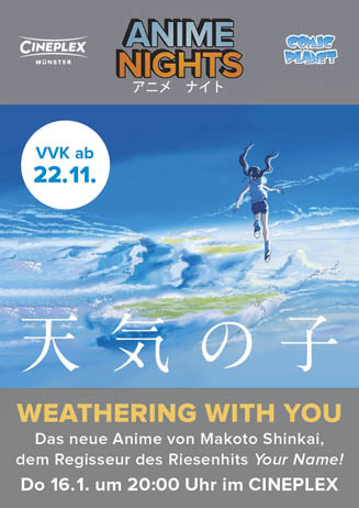 Anime Night: WEATHERING WITH YOU