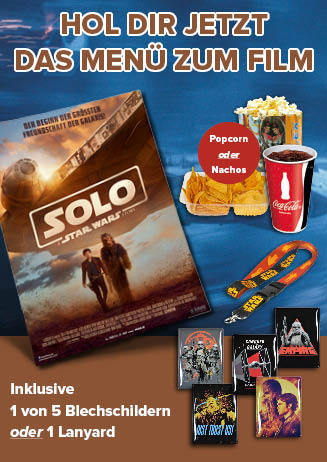 "180630 ConMenue ""Solo: A Star Wars Story"""