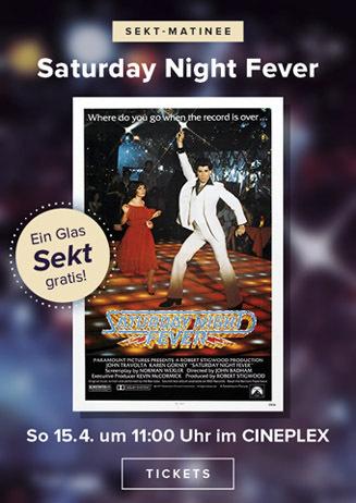 Sekt-Matinee: SATURDAY NIGHT FEVER