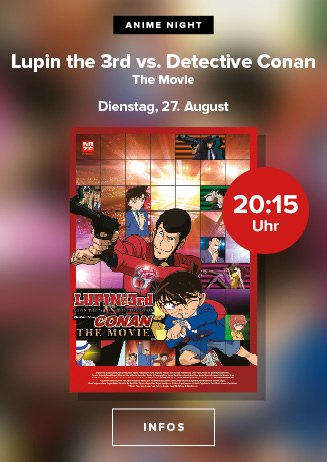 """Anime Night: """"Lupin the 3rd vs. Detective Conan: The Movie"""""""