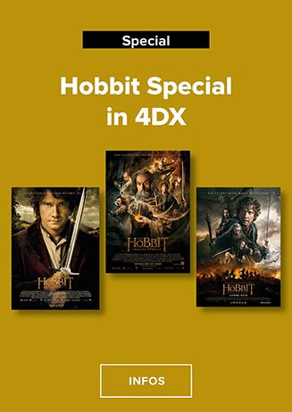 Der Hobbit 1-3 4DX