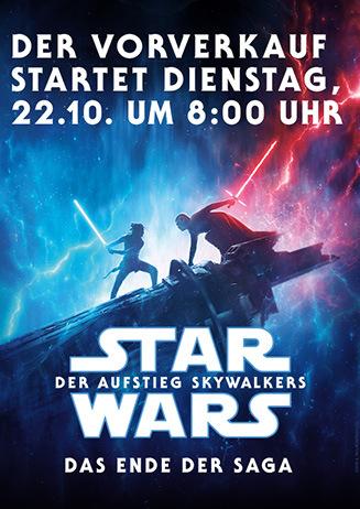 """191022 VVK-Ankündigung """"Star Wars: Der Aufstieg Skywalkers"""""""