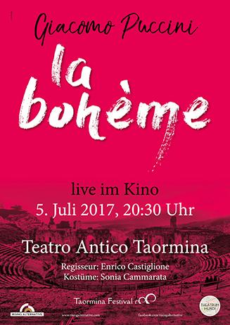 Live Oper: La Boheme - live aus dem Teatro antico di Taormina