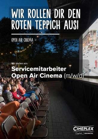 Servicemitarbeiter Open Air Cinema (m/w/d)