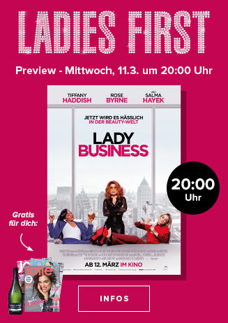 """Ladies First Preview: """"Lady Business"""""""