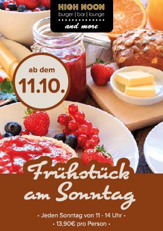 High Noon - Frühstück am Sonntag