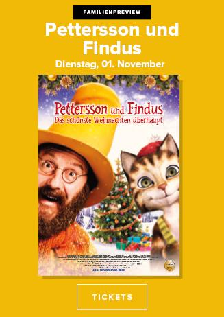 01.11. - Familienpreview: Pettersson und Findus