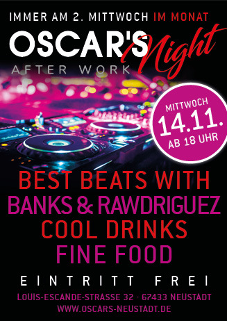 OSCAR'S Night After Work