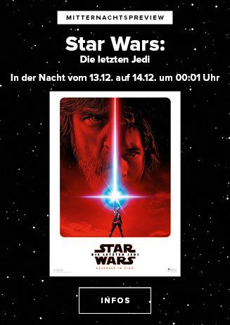"""Mitternachtspreview """"Star Wars: Die letzten Jedi"""""""
