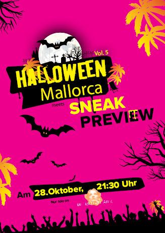 Special: Halloween meets Mallorca meets Sneak Preview