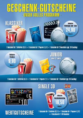 Geschenkideen für große Filmerlebnisse