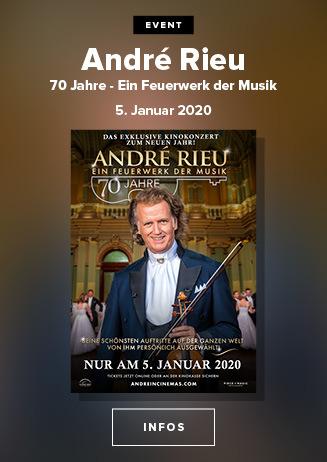 Special: André Rieu: 70 Jahre - Ein Feuerwerk der Musik  5.1.2020