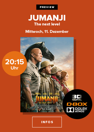 "Preview: ""Jumanji: The next Level"""