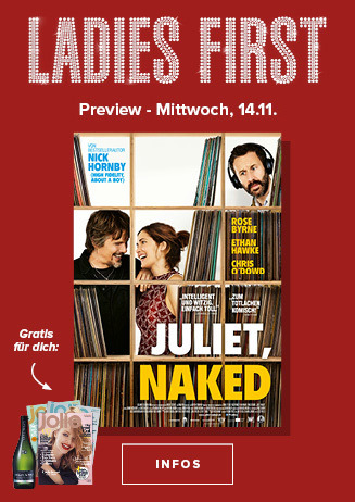 14.11. - Ladies First: Juliet, Naked