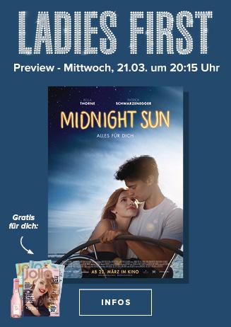 Midnight Sun: Ladies First Vorpremiere