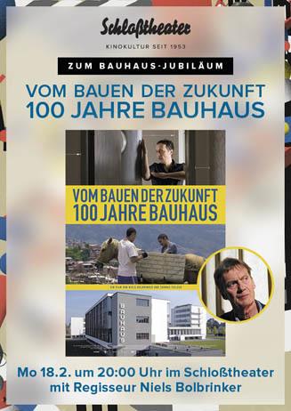 VOM BAUEN DER ZUKUNFT mit Regisseur