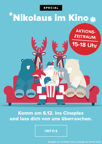 Nikolaus im Cineplex Kassel