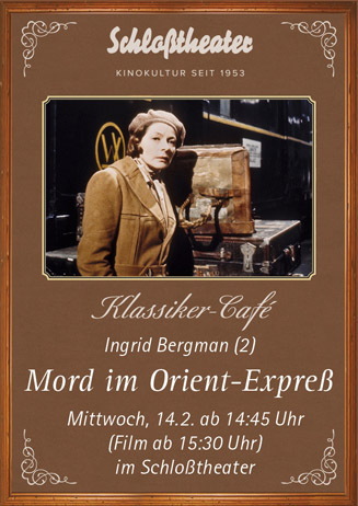 Klassiker-Cafe: MORD IM ORIENT-EXPRESS