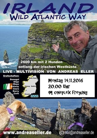 Multivisionsshow: Irland Wild Atlanic Way