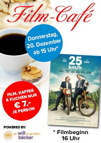 """181220 Film-Café """"25 km/h"""""""