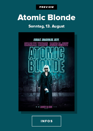 """Preview """"Atomic Blonde"""""""