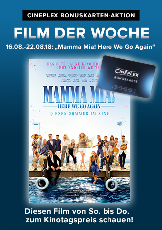 "Film der Woche: ""Mamma Mia! Here We Go Again"""