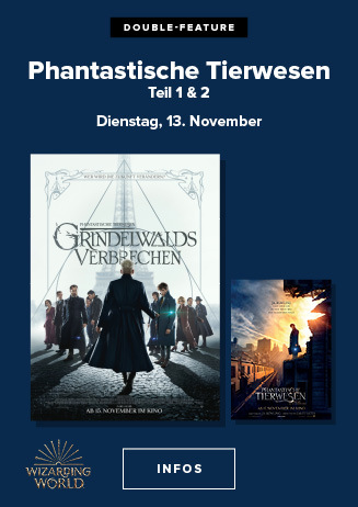 DOUBLE-Feature: Phantastische Tierwesen Grindelwalds Verbrechen