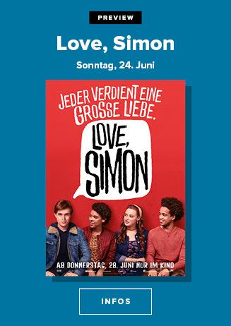 Preview Love Simon 24. Juni