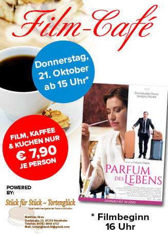 """211021 Film-Café """"Parfum des Lebens"""""""