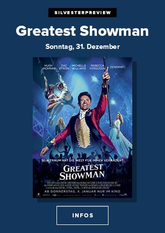 Silvesterpreview: The Greatest Showman