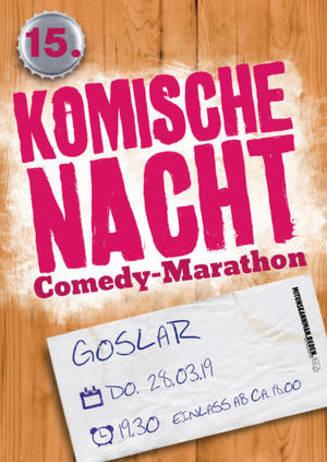 15. Komische Nacht in Goslar