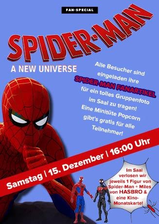 "Fan-Screening zu ""Spider-Man: A New Universe"""