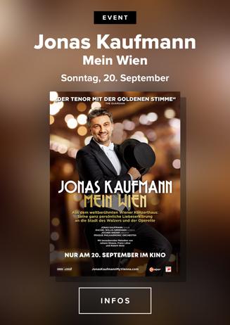 Klassik im Kino: Jonas Kaufmann: Mein Wien