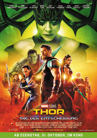 Filmstart: Thor - Tag der Entscheidung