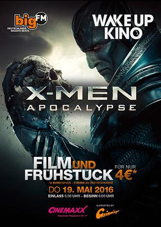 "Wake Up Kino: ""X-Men: Apocalypse"""