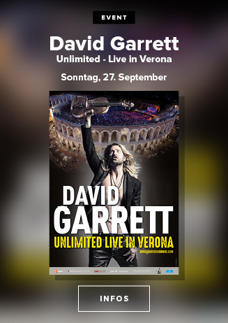 AC: David Garrett Unlimited Live in Verona