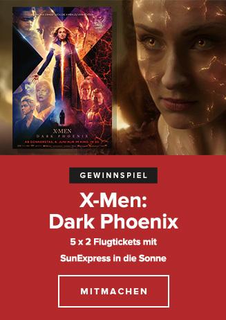 "190619 Gewinnspiel ""X-Men: Dark Phoenix"""