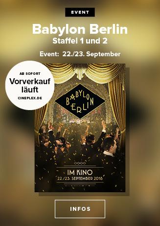 BABYLON BERLIN: Im Kino
