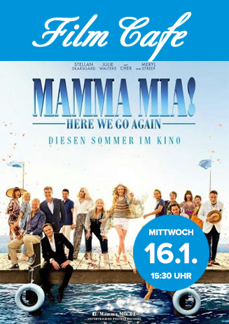 "Filmcafé: ""Mamma Mia - Here We Go Again"""