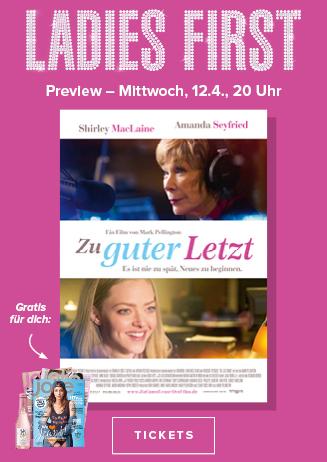 """Ladies First """"Zu guter Letzt """""""