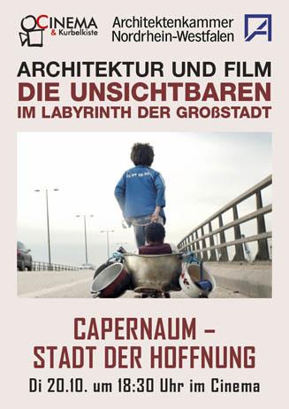Architektur und Film: CAPERNAUM