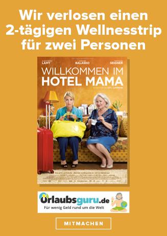 Bis 31.8. - Gewinnspiel: Willkommen im Hotel Mama