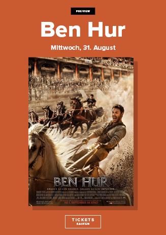 Vorpremiere: Ben Hur 3D