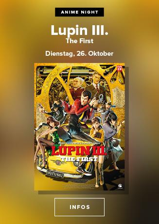 Anime Night: Lupin the IIIrd: The First